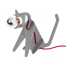 Lampe Get out cat - Gris clair
