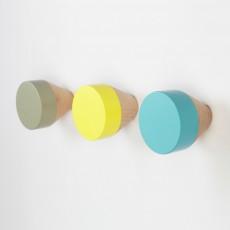 Set de 3 patères - Pastel