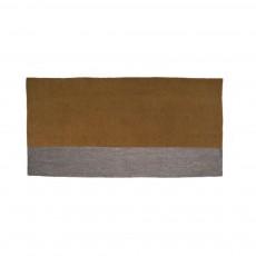 Tapis en feutre Potala - Noisette et gris