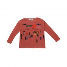 T-shirt Château Marmot Rose