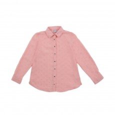 Chemise Manches Longues Catty Rose poudré
