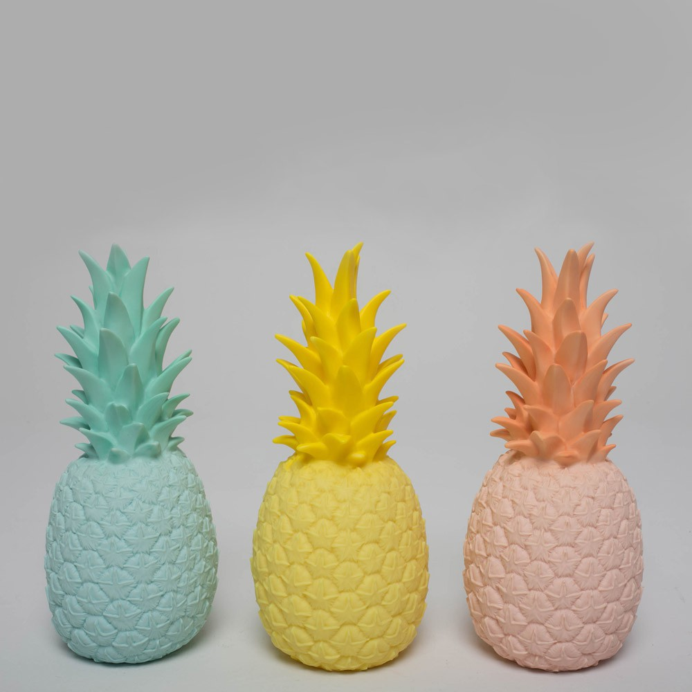 Lampe ananas jaune goodnight light d coration smallable Ananas dekoration