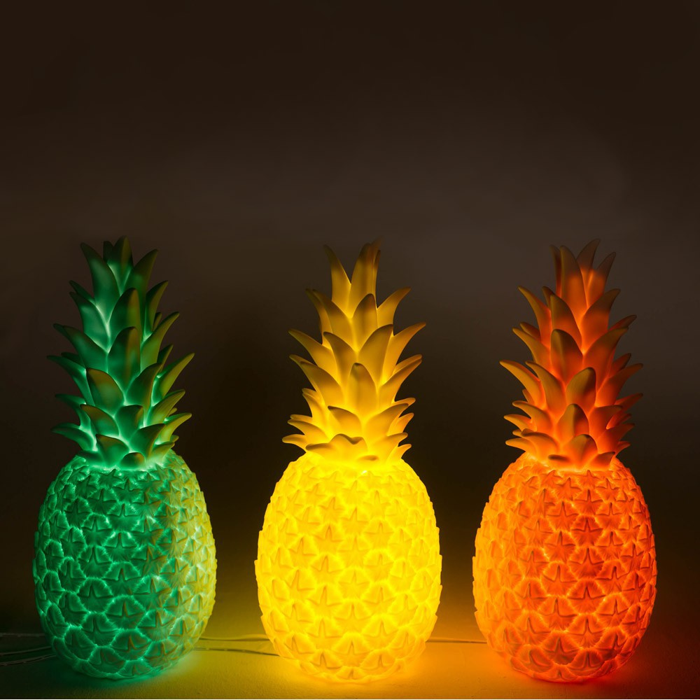 Lampe ananas jaune goodnight light d coration smallable - Report de paiement de 3 mois par cb ...