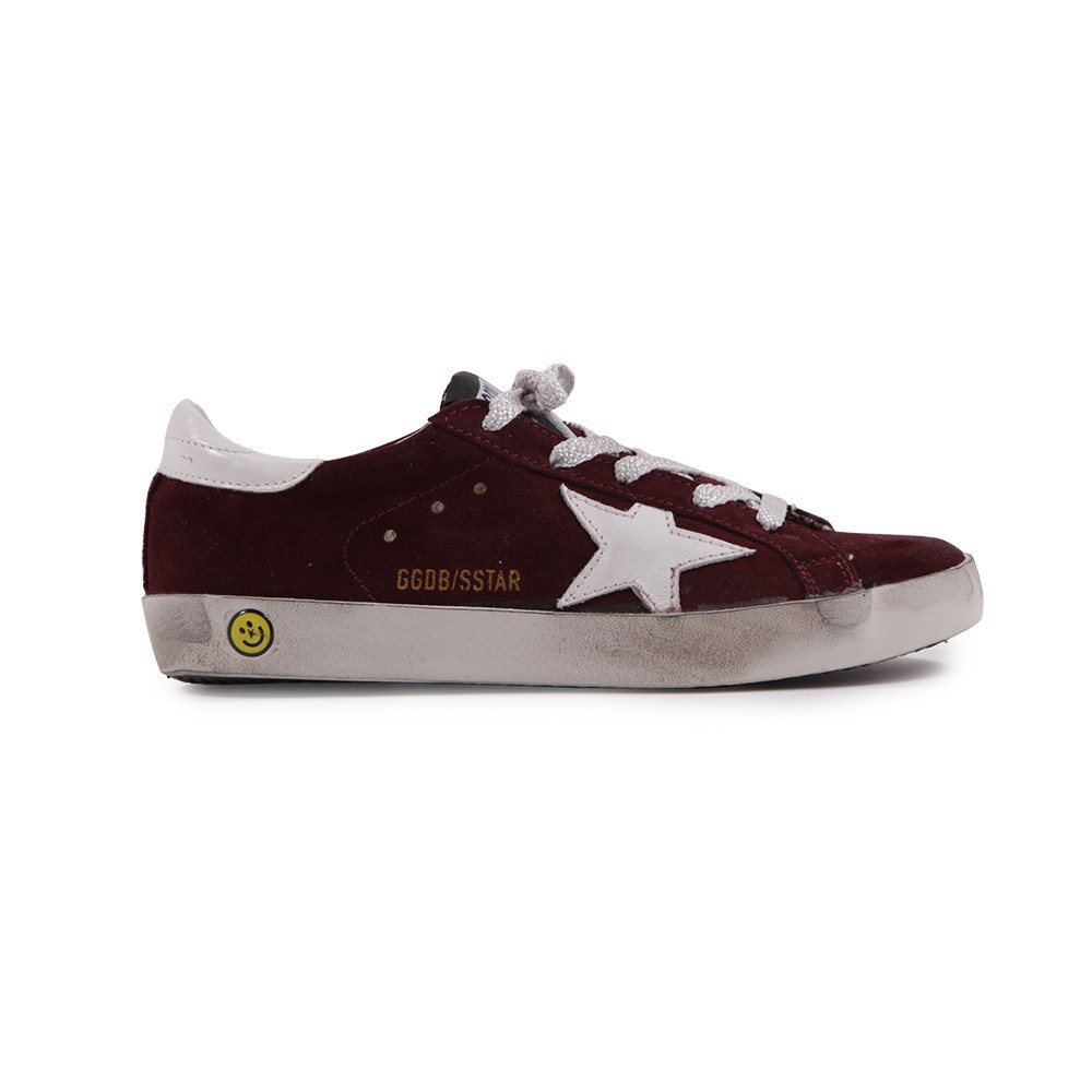 basket basses cuir superstar bordeaux golden goose chaussures smallable. Black Bedroom Furniture Sets. Home Design Ideas