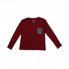 T-shirt Tam ML Bordeaux