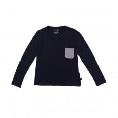 T-shirt Tam Bleu marine