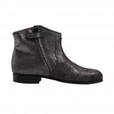 Boots Suede Paillettes Noir