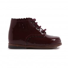 Bottines Vernis Vivaldi  Bordeaux