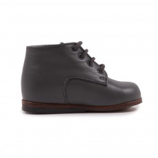 Bottines Cuir Miloto Gris