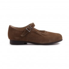 Babies Suede Clare Taupe