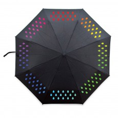Parapluie change de couleurs