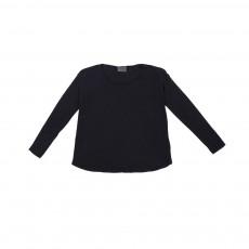 T-shirt Manches Longues Thomasson Bleu nuit
