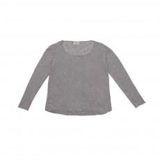 T-shirt Manches Longues Thomasson  Gris clair