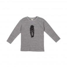 T-shirt Panthère Tale Gris chiné
