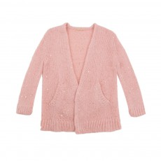 Cardigan Sequins Celaine Rose