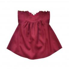 Robe Fanny  Bordeaux
