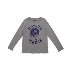 T-shirt Edyson Tigers Gris chiné