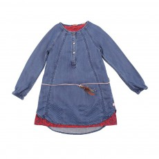 Robe Jean Doublure Denim