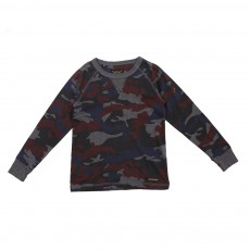 T-shirt Camouflage Neal  Multicolore