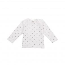 T-shirt Chats Blanc