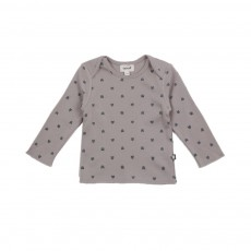 T-shirt Chats Gris