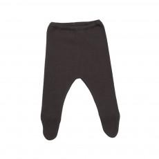 Pantalon Pieds  Gris ardoise