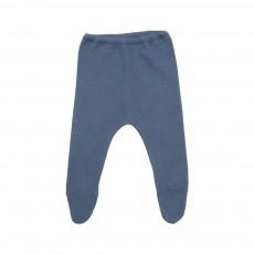 Pantalon Pieds  Bleu pétrole