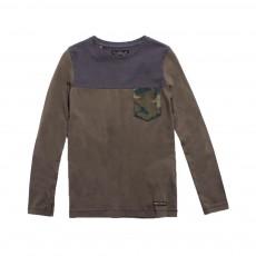 T-shirt Grant Vert kaki