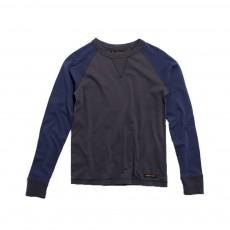 T-shirt Bicolore Neal  Gris charbon