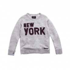 Sweat New York Hank  Gris chiné