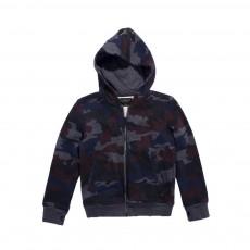 Sweat Camouflage Hayden Bleu marine