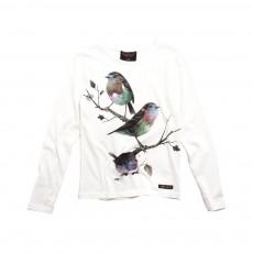 T-shirt Oiseaux Nolita Ecru