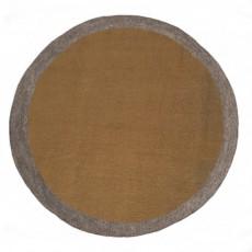 Tapis en feutre Lumbini - Noisette et gris
