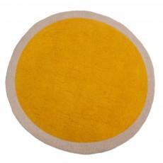 Tapis en feutre Lumbini - Pollen et taupe