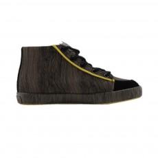Baskets Wood Vert kaki