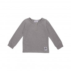 T-shirt Basic Grandpa Gris chiné