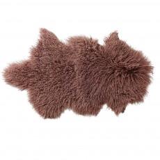 Peau d'agneau de Mongolie - Gris taupe