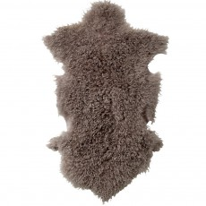 Peau d'agneau de Mongolie - Gris clair