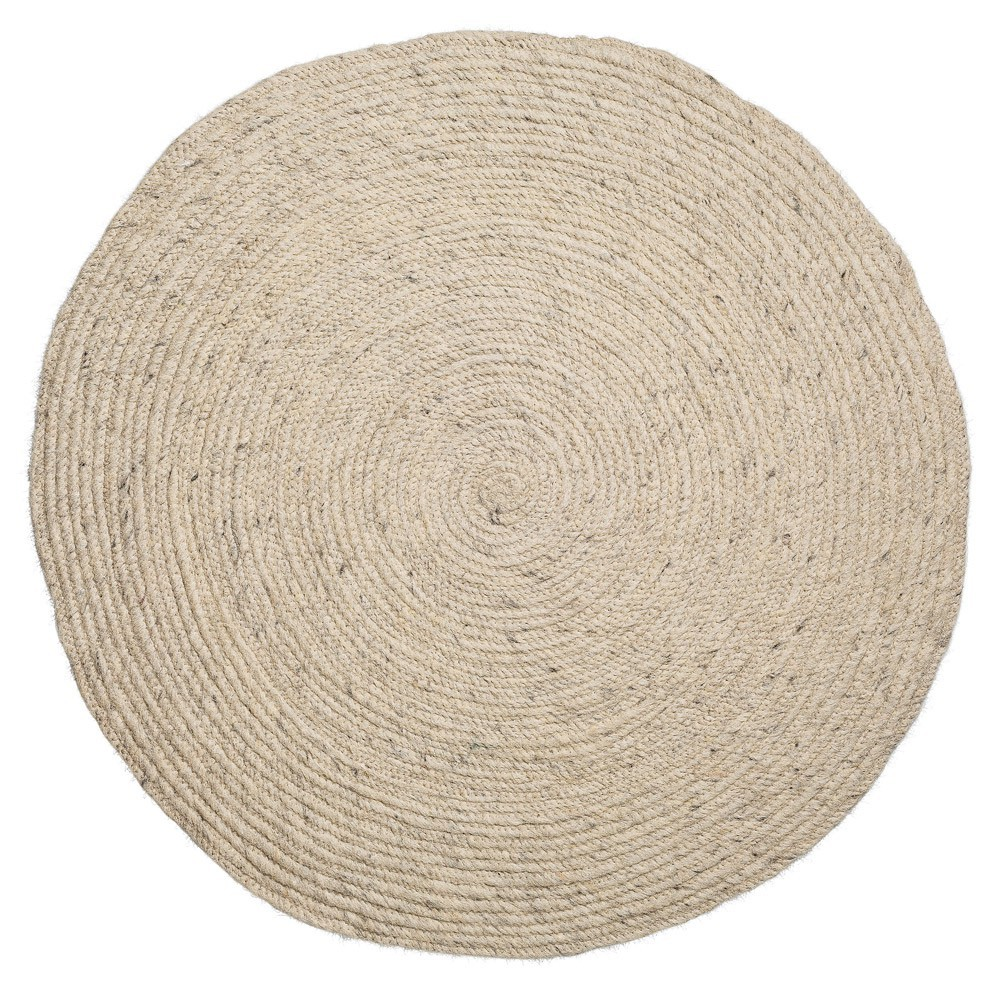 tapis rond naturel bloomingville With tapis rond naturel