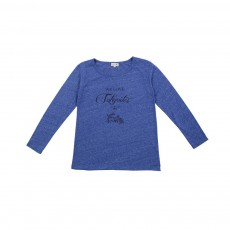 T-shirt We Love Tokyoites Bleu