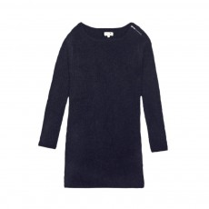 Robe Maille Patty Noir