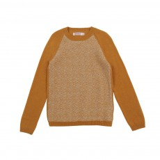 Pull Jacquard Ford Ocre