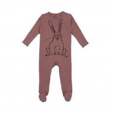 Pyjama Lapin Twiddle Vieux Rose