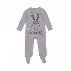 Pyjama Lapin Twiddle Gris chiné