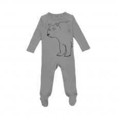 Pyjama Ours Twiddle Gris
