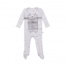 Pyjama Chat Rufus Gris clair
