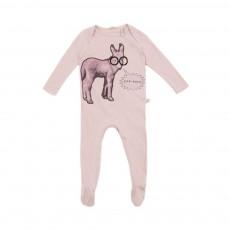 Pyjama Âne Rufus Rose