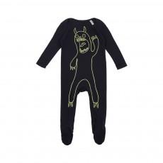 Pyjama Monstre phosphorescentRufus Noir