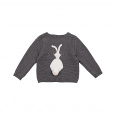 Pull Lapin Thumper Gris anthracite