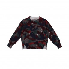 Pull Camouflage Curtis Multicolore